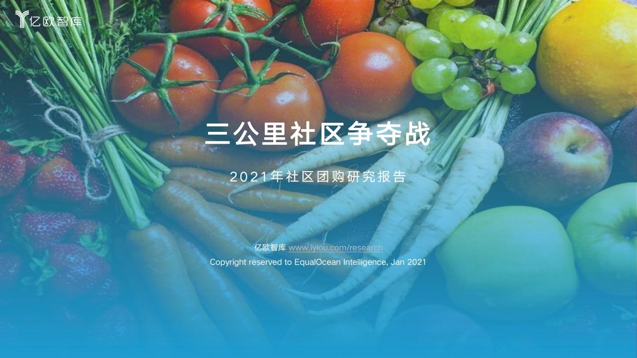 社区团购研究报告合集